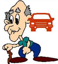 היפגעות מבוגרים בכביש